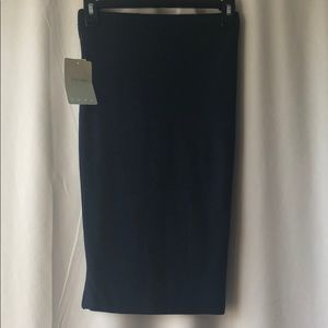 Lily White Navy Body-Con Skirt NWT